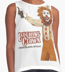Laughing Clown Chocolate Stout Contrast Tank