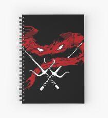 Red Wrath Spiral Notebook