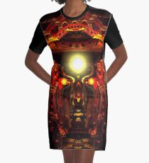Mind Chamber Graphic T-Shirt Dress