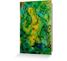 Abstract Bubbles Greeting Card