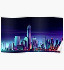 Neon City Poster