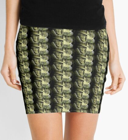 Reading Power-Food for the Mind Mini Skirt