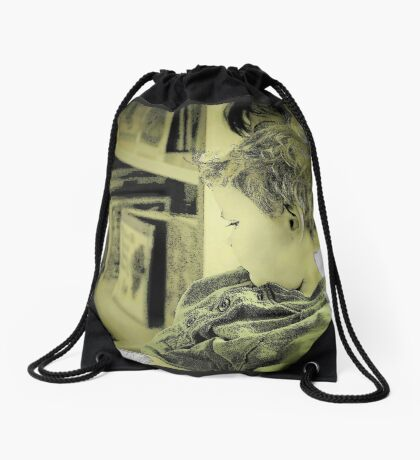 Reading Power-Food for the Mind Drawstring Bag