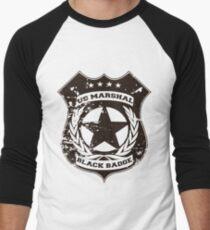 Wynonna Earp - Schwarze Abzeichen-Abteilung Baseballshirt für Männer