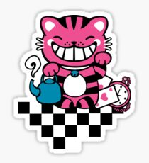 Maneki Cheshire Sticker
