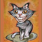 Cheshire Cat Grin by Theresa Taylor Bayer