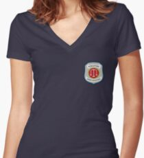 Wynonna Earp - Purgatory Sheriff Department Patch Women's Fitted V-Neck T-Shirt