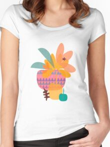 Tropical Women's Fitted Scoop T-Shirt