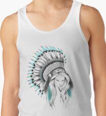 Indian Headdress Tank Top