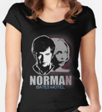 Norma-Norman Bates Motel Women's Fitted Scoop T-Shirt