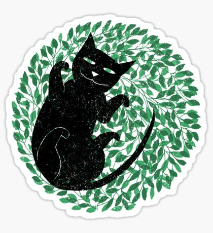 Summer cat Sticker