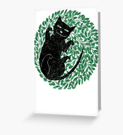 Summer cat Greeting Card