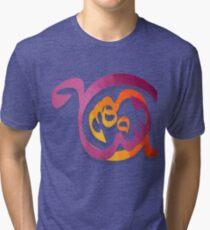 Arabic Calligraphy art abstract Tri-blend T-Shirt