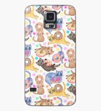Sprinkles on Donuts and Whiskers on Kittens Case/Skin for Samsung Galaxy