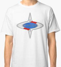 Marcos Car Badge, Colour fill, Black Outline Classic T-Shirt