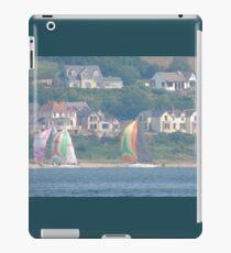 Boats in Water Colour  - Donegal - Buncrana Ireland iPad Case/Skin