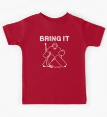 Bring It Hockey Goalie Kids Tee