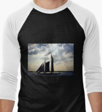 Schooner, New York Men's Baseball ¾ T-Shirt