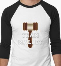Team Mallet Men's Baseball ¾ T-Shirt