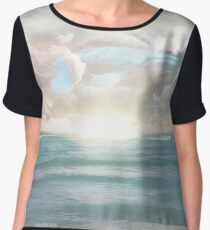 Ocean Daydreaming  Women's Chiffon Top
