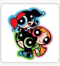 Power Puff Girls Birds of Prey Sticker