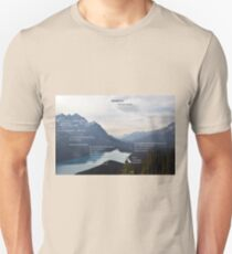 Bedrock by Gary Snyder T-Shirt