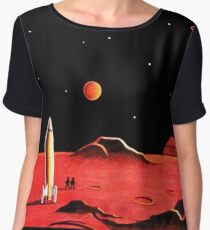 CITY ON MARS Women's Chiffon Top