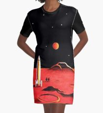 CITY ON MARS Graphic T-Shirt Dress
