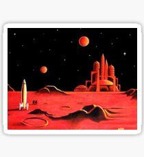 CITY ON MARS Sticker