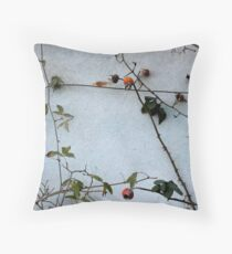 A wall of  thorns Throw Pillow