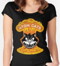 Atom Cats! Women's Fitted Scoop T-Shirt
