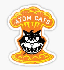 Atom Cats! Sticker