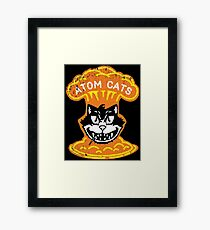 Atom Cats! Framed Print