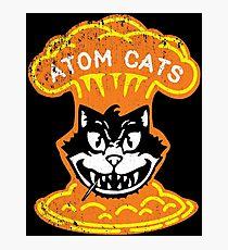 Atom Cats! Photographic Print