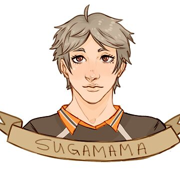 HAIKYUU VOLLEYDORKS - SUGAWARA KOUSHI by Namewithsense
