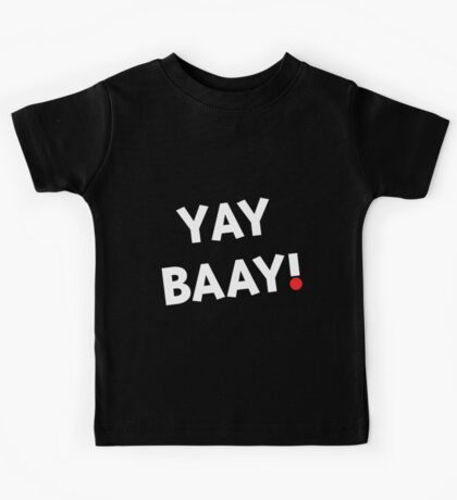 YAY BAAY! (White) Kids Clothes