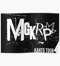 Pseudo Band | MGKRP - Kanto Tour Poster