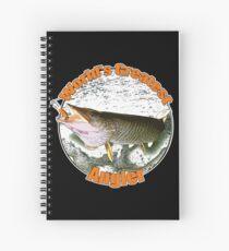 World's greatest angler Spiral Notebook