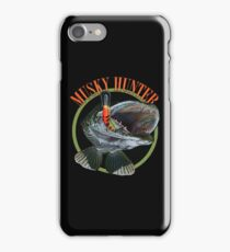 Musky hunter iPhone Case/Skin