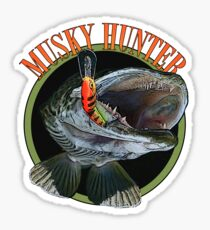 Musky hunter Sticker