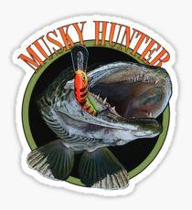 Musky hunter Sticker