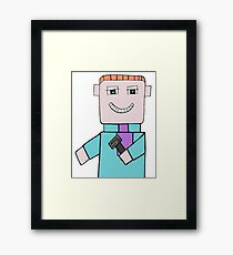 Comedian Game Show Host Framed Print