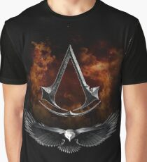 Assassin Eagle Graphic T-Shirt