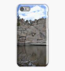 Rockwall at Gem Lake iPhone Case/Skin