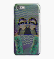 Frank Iero Vaporwave iPhone Case/Skin