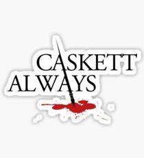 Caskett always Sticker