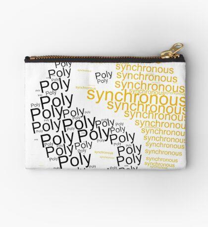 Polysynchronous  Zipper Pouch