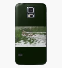 Eleven Duckling's in the Rain Case/Skin for Samsung Galaxy