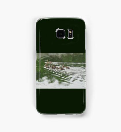 Eleven Duckling's in the Rain Samsung Galaxy Case/Skin