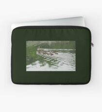 Eleven Duckling's in the Rain Laptop Sleeve